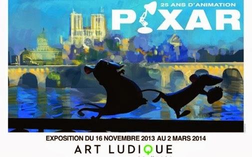 L exposition pixar 25 ans d animation mus e art for Salon pixar paris