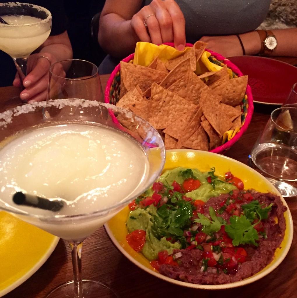 Margarita - Guacamole & nachos