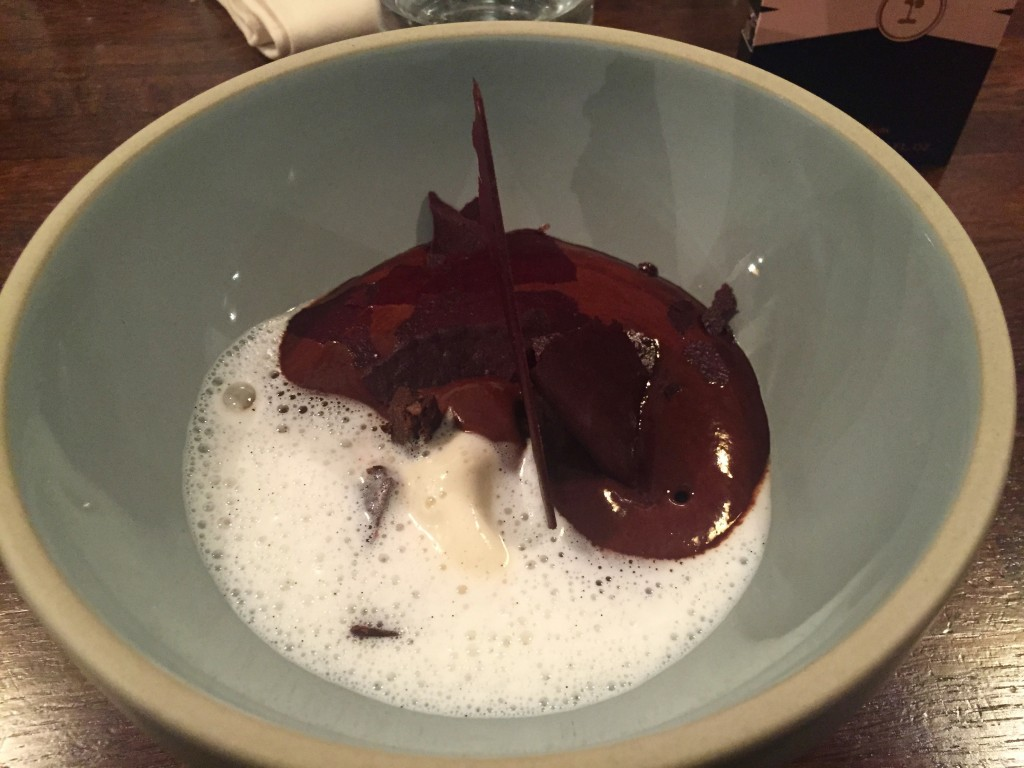 Mousse choco pralinée