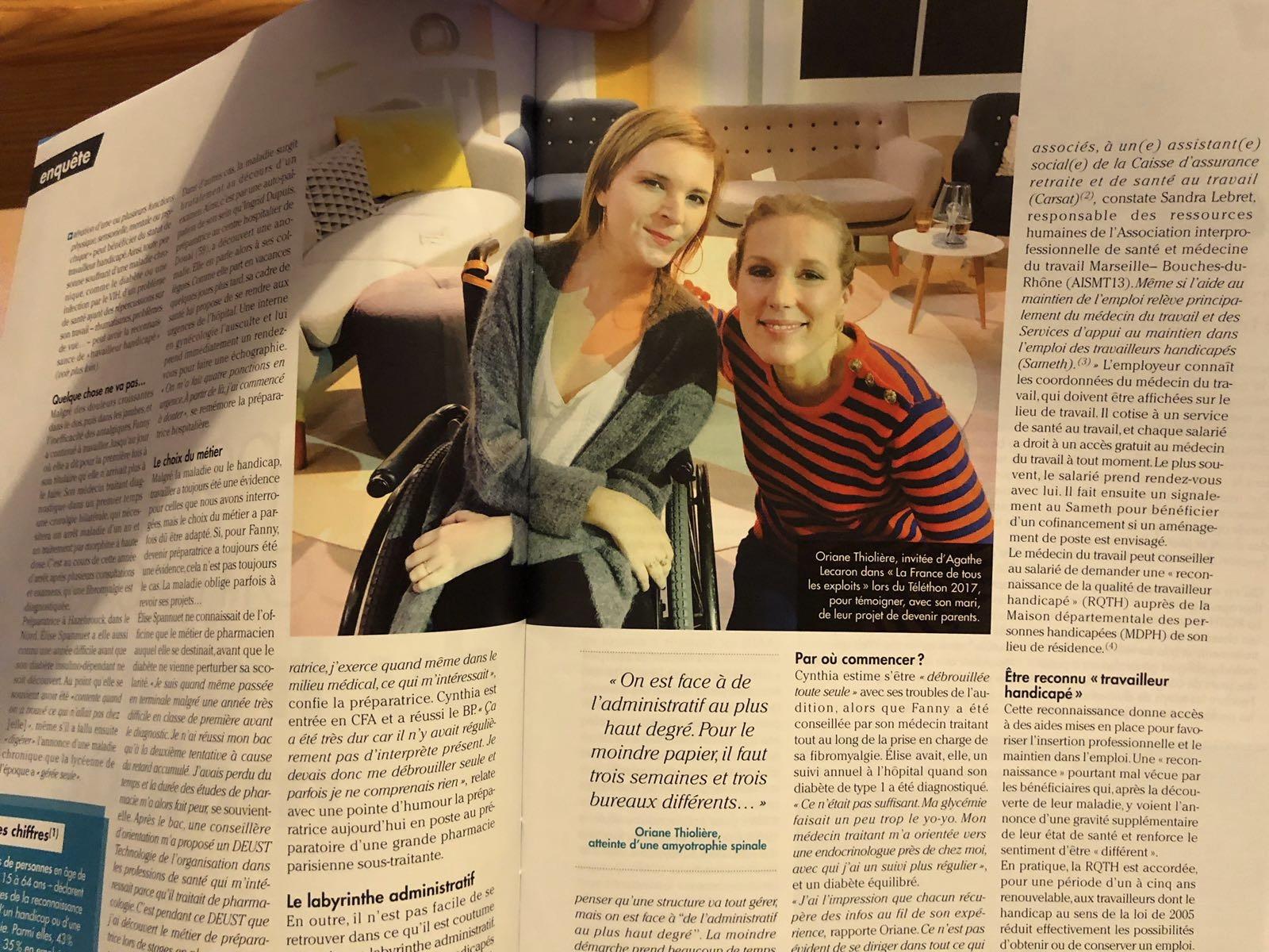 Article Dans Porphyre Mai 2018 Handicap Et Monde Du Travail En